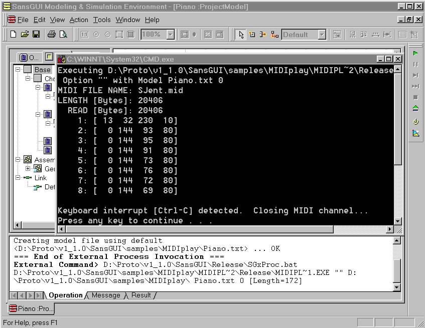 SansGUI Utility Programs